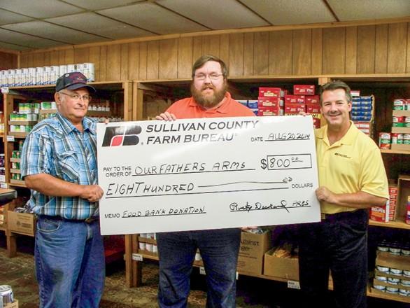 Sullivan County Farm Bureau cornhole tournament