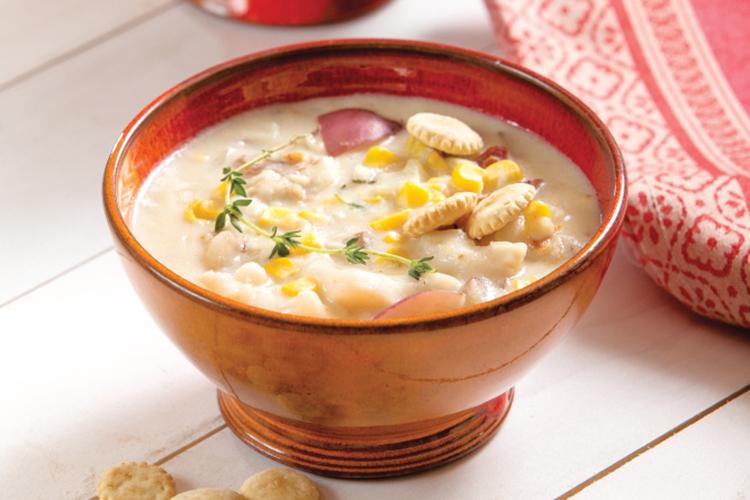 Fish, Corn and Potato Chowder