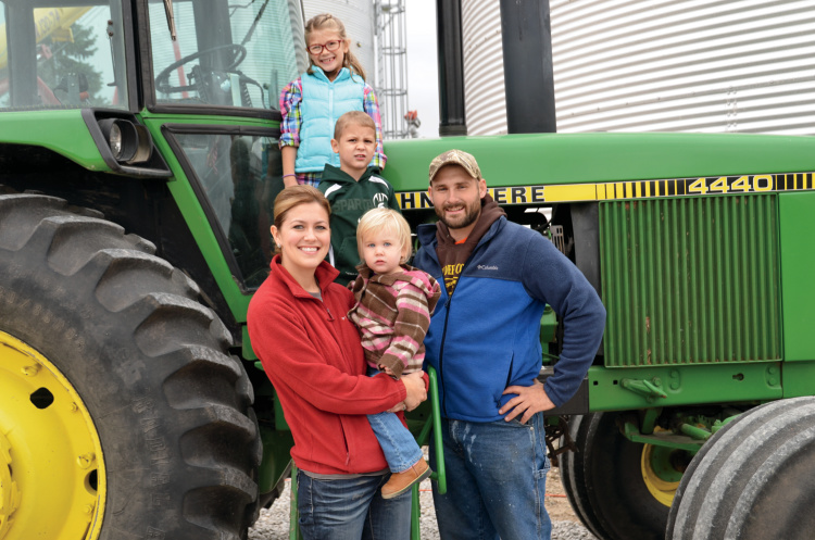 Young Farmer Excellence in Ag Award finalists - Mike and Sarah Hertsel
