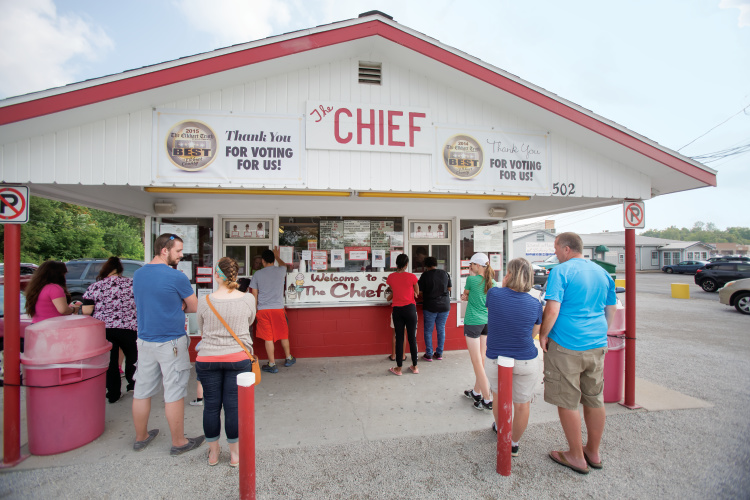The Chief Ice Cream Stand