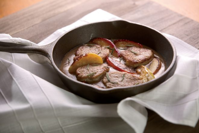 Maple Apple Pork Medallions