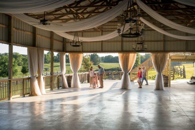 The Loft at Walnut Hill Farm wedding venue