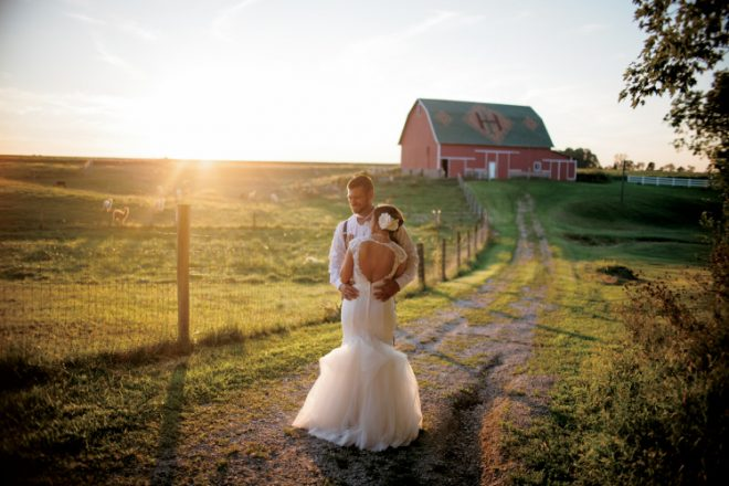 Christmas Tree Farm Weddings.Rural And Romantic Farm Weddings My Indiana Home