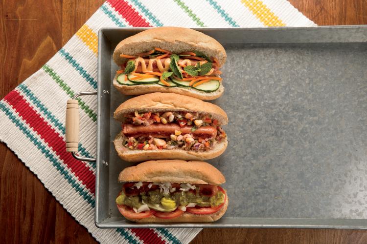 summer hot dogs