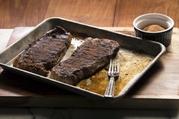 Grilled Cajun Beef Steaks