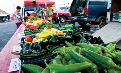 Stadium Village Farmers Market in Indianpolis, Indiana