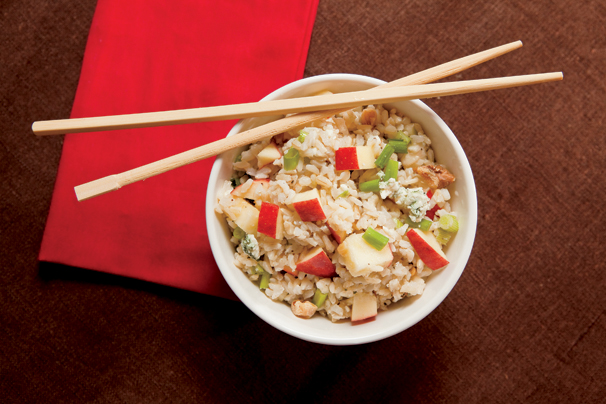 Brown Rice Salad; Salad with Pears; Salad with Walnuts; Salad with Gorgonzola; Rice Salad; Brown Rice Recipes; Pears Recipe; Walnuts Recipe; Gorgonzola Recipes