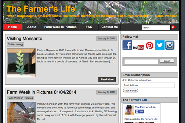 The Farmer's Life Blog