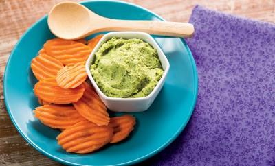 Edamame and Green Pea Dip