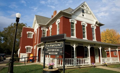 Fairmount Historical Museum.