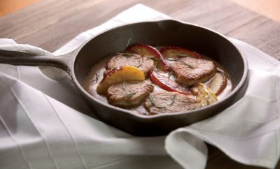 Maple Apple Pork Medallions