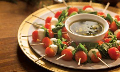 Mini Caprese Salad Kabobs