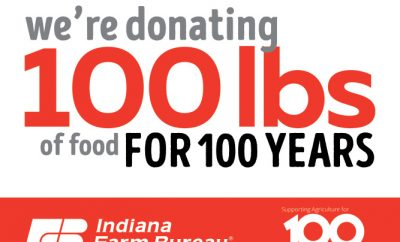 100 Pounds for 100 Years logo