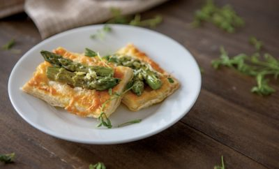 Asparagus Gruyere Puff Pastry